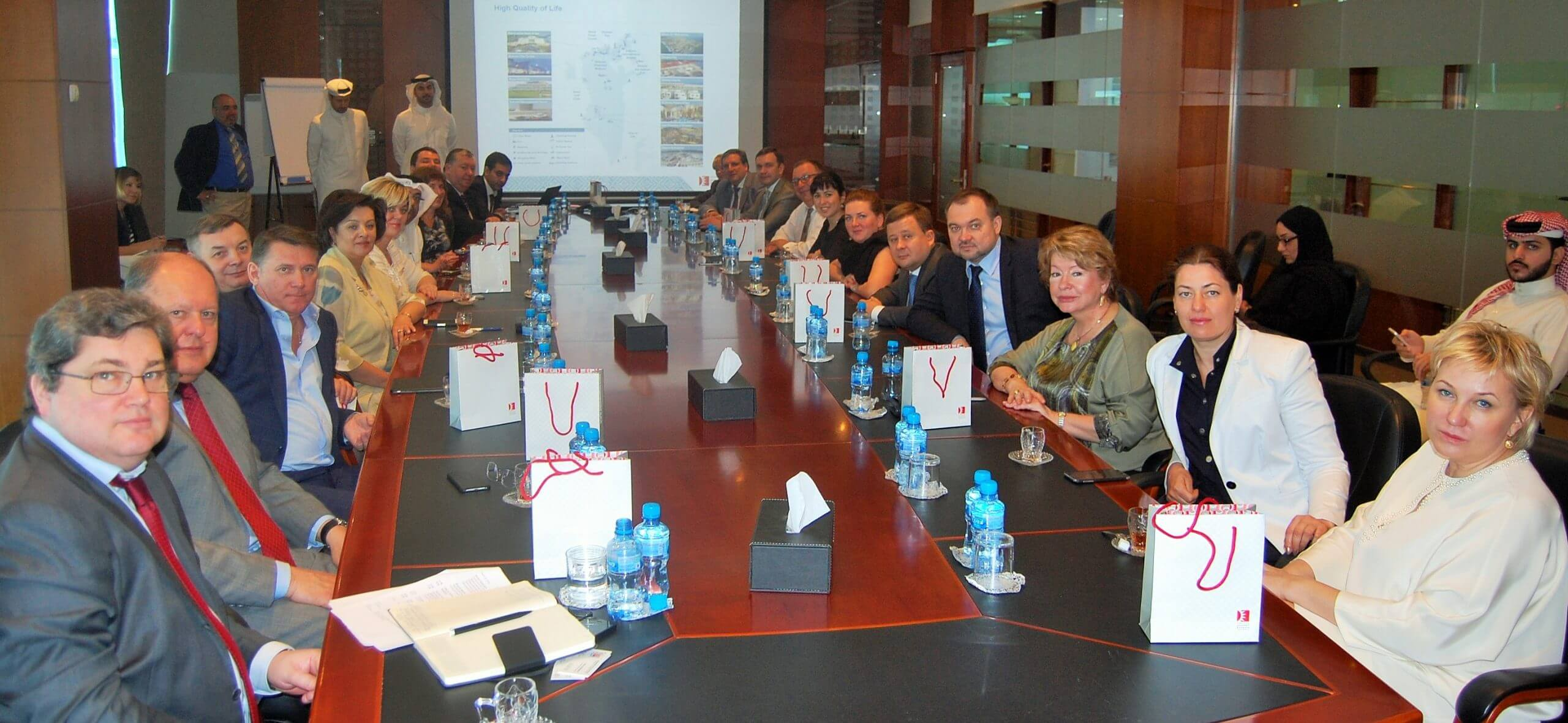 Russian Businesses briefed on Bahrain's investment opportunities