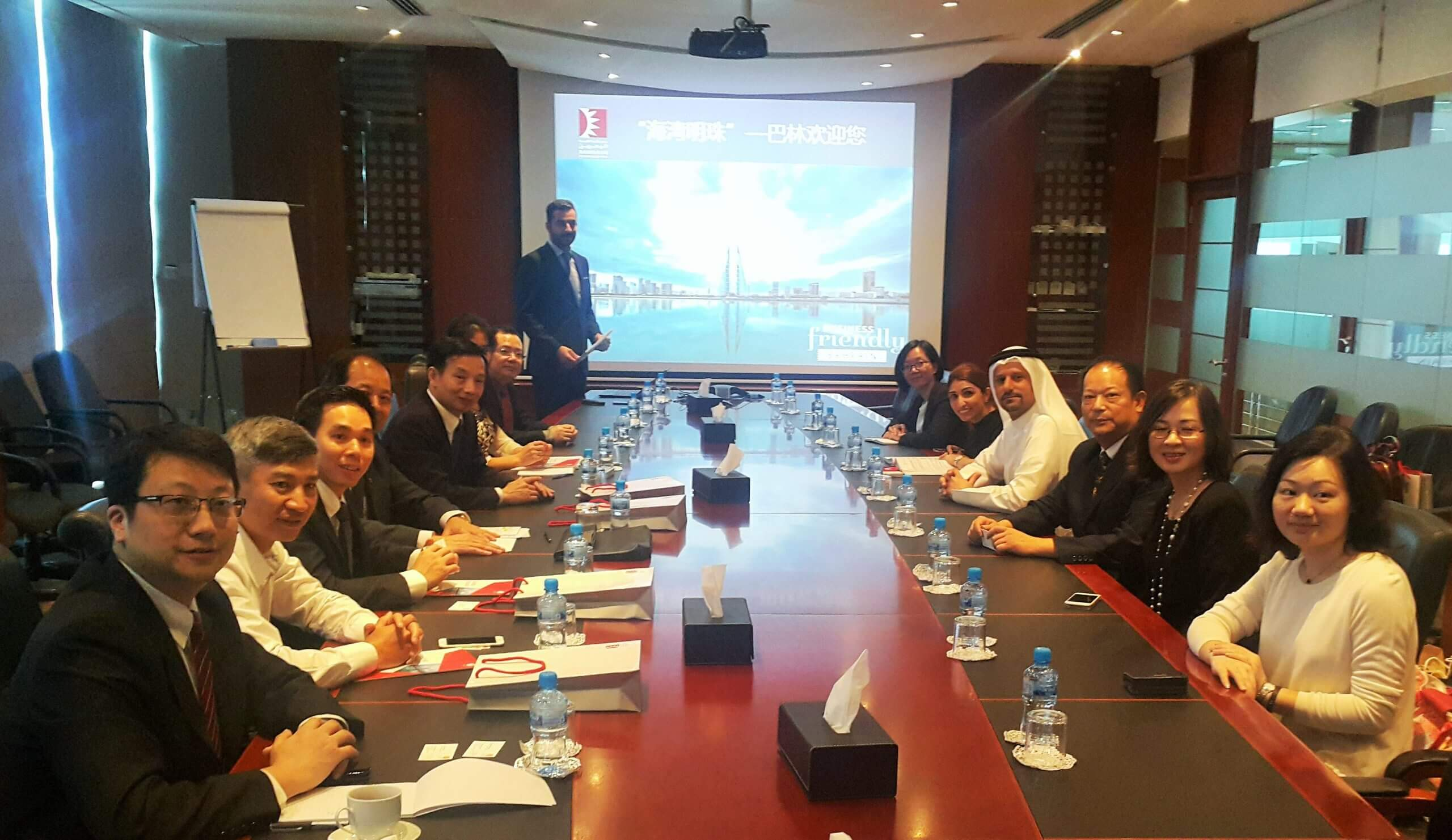 Delegation from Guangdong China on a visit to Bahrain