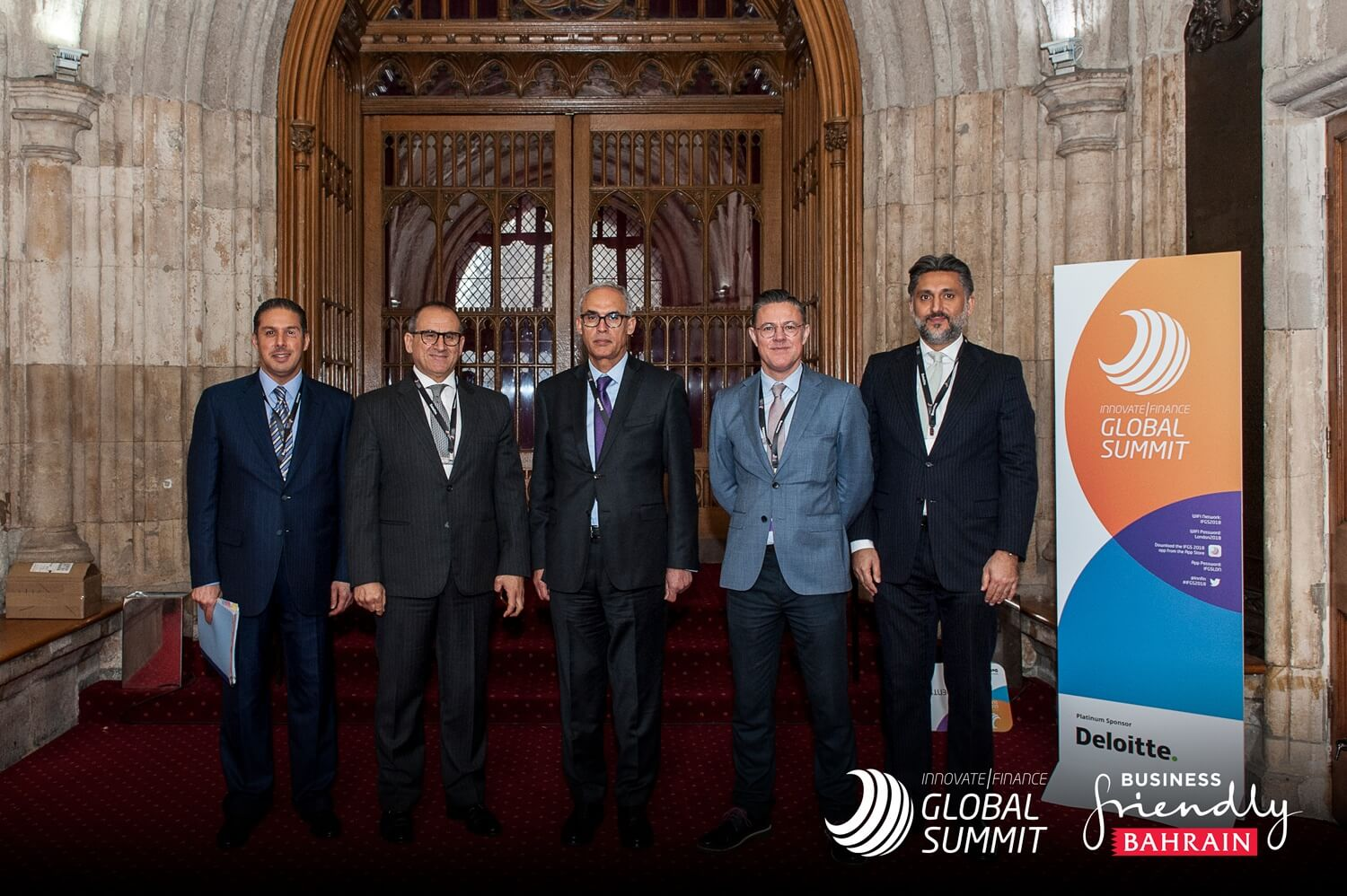 Bahrain Participates in Innovate Finance Global Summit 2018