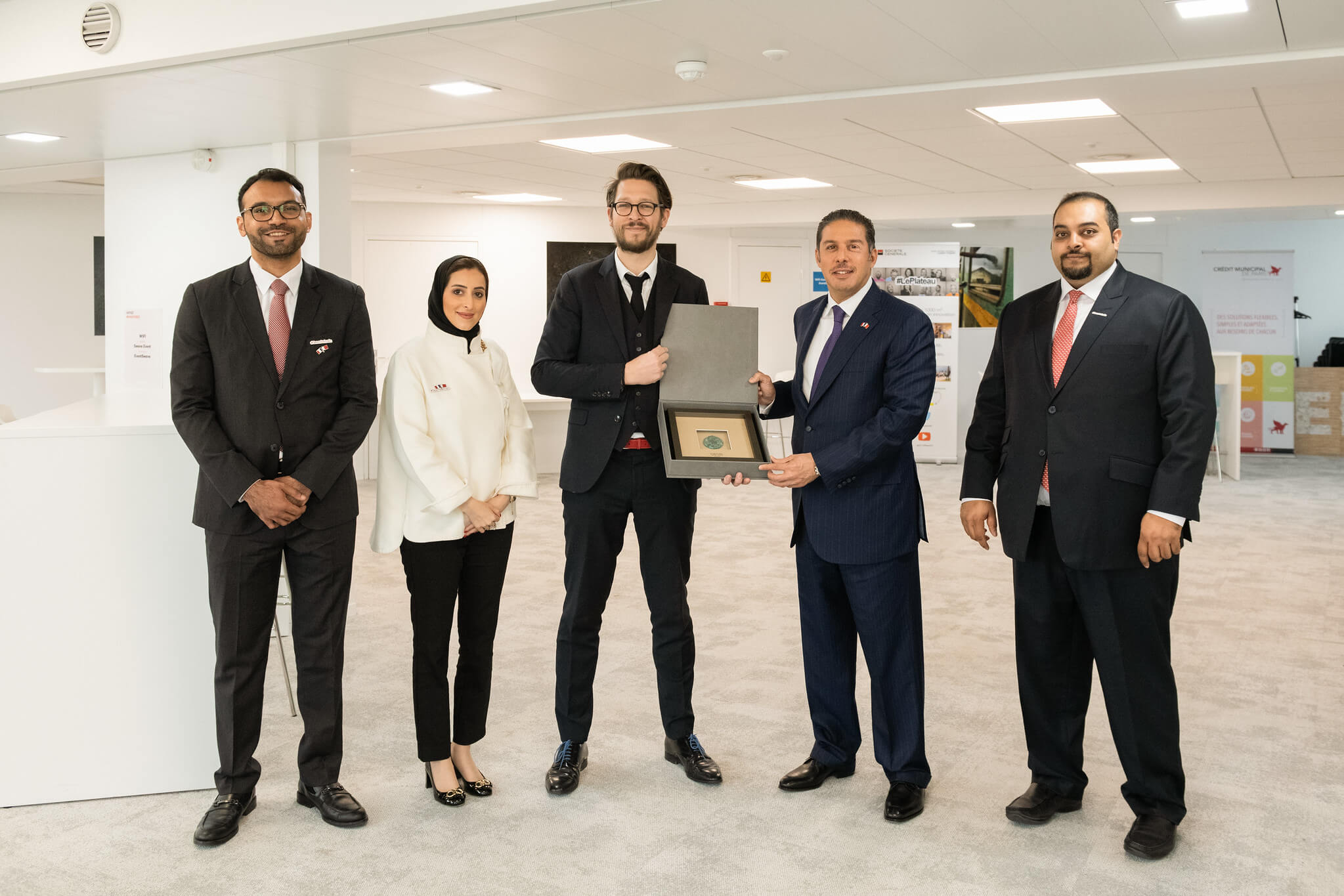 Bahraini Business Delegation visits Le Swave FinTech Incubator and signs joint cooperation agreement